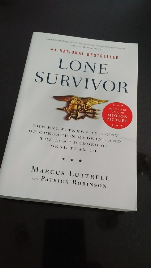 "Recently Signed copies of ""Lone Survivor"" by Marcus Luttrell"